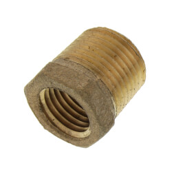 """3/8"""" x 1/4"""" MIP x FIP Brass Bushing (Lead Free) Product Image"""