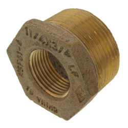 "1-1/4"" x 3/4"" MIP x FIP Brass Bushing (Lead Free) Product Image"