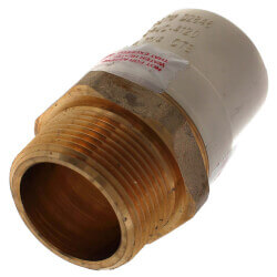 """1-1/4"""" CPVC x Male Brass Adapter (Lead Free) Product Image"""