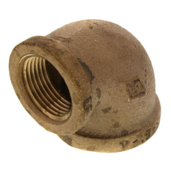 "1"" FIP x 3/4"" FIP Brass Elbow (Lead Free) Product Image"