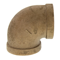 """1"""" FIP x FIP Brass Elbow (Lead Free) Product Image"""