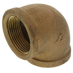 "1-1/4"" FIP x FIP Brass Elbow (Lead Free) Product Image"