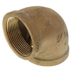 "1-1/2"" FIP x FIP Brass Elbow (Lead Free) Product Image"