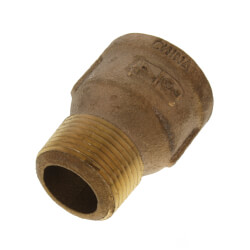 "3/4"" Brass Extension Piece (Lead Free) Product Image"