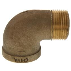 "1"" Threaded Brass 90 Deg Street Elbow (Lead Free) Product Image"