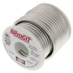 Bridgit 1/8 x 1lb Spool of Solder Product Image
