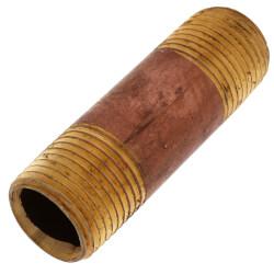 "1/2""x 2-1/2"" Brass Nipple Product Image"