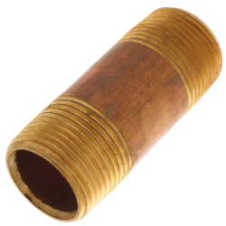 "3/4""x 2-1/2"" Brass Nipple Product Image"