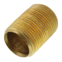 "3/4""x Close Brass Nipple Product Image"