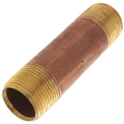 "3/4"" x 3-1/2"" Brass Nipple Product Image"