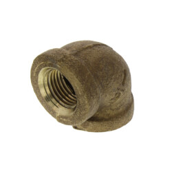 "1/8"" Brass 90° Elbow (Lead Free) Product Image"