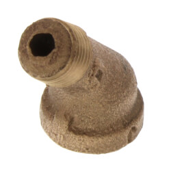 "1/8"" Brass 45° Street Elbow (Lead Free) Product Image"