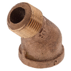 "3/8"" Brass 45° Street Elbow (Lead Free) Product Image"