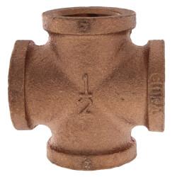 "1/2"" Brass Cross (Lead Free) Product Image"