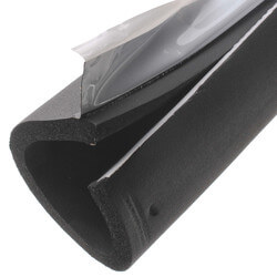 """2-5/8"""" Pipe (O.D.) x 1/2"""" AP Armaflex Black Lap Seal Pipe Insulation, 6' Product Image"""