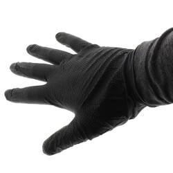 Black Mamba Torque Grip Nitrile Gloves, Large (Box of 100) Product Image