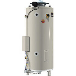 100 Gal. 250,000 BTU<br> Comm. Gas Heater (NG) Product Image