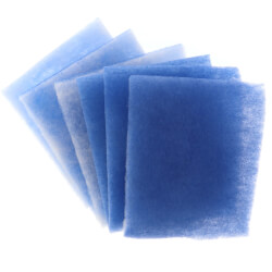"7"" x 8.5"" BetterVent Replacement Polyester Filters (6 Pack) Product Image"