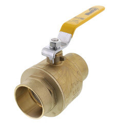 "2-1/2"" Full Port Sweat Ball Valve (Lead Free) Product Image"