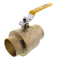 "3"" Full Port Sweat Ball Valve <br>(Lead Free) Product Image"