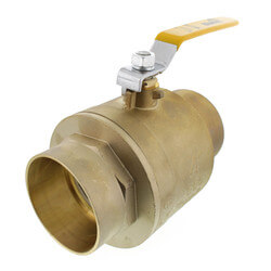 "4"" Full Port Sweat Ball Valve<br>(Lead Free) Product Image"