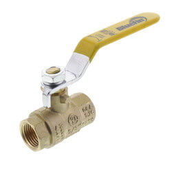 "3/8"" Full Port Threaded Ball Valve (Lead Free) Product Image"