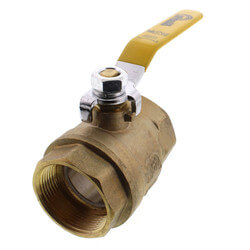 "1-1/2"" Full Port Threaded Ball Valve (Lead Free) Product Image"