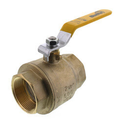 "2-1/2"" Full Port Threaded Ball Valve (Lead Free) Product Image"