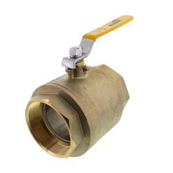 "4"" Full Port Threaded Ball Valve (Lead Free) Product Image"