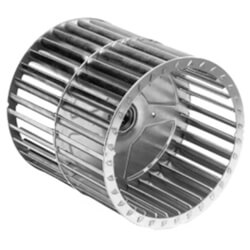 """Double Inlet Blower Wheel (7-31/64"""" Diameter, 1/2"""" Bore, CW) Product Image"""