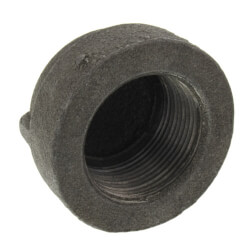 "1/4"" Extra Heavy Black Cap Product Image"