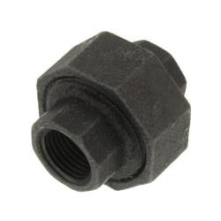"""3/8"""" Extra Heavy Black Union Product Image"""
