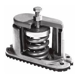 """1"""" Deflection Spring Floor Mount Vibration Isolator (85 lbs Capacity) Product Image"""