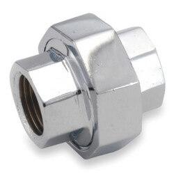 "1/2"" Chrome Brass Union (Lead Free) Product Image"