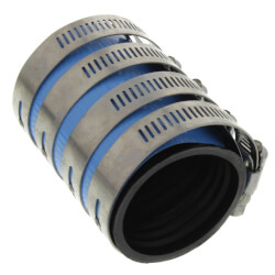 "2"" CI to 1-1/2"" CI Heavyweight Shielded Coupling Product Image"