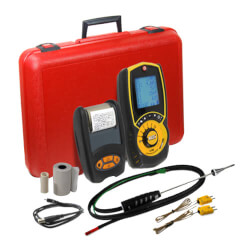 Flue Gas Combustion Analyzer w/ Heat Exchanger Test Product Image