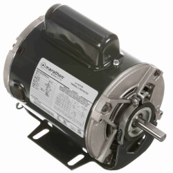 "6-1/2"" Capacitor Start TEFC Motor (115/208-230V, 1140 RPM, 1/4 HP) Product Image"