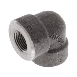 "3/8"" 3000# A105N Carbon Steel 90° Elbow NPT Product Image"