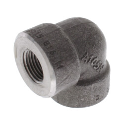 "1/2"" 3000# A105N Carbon Steel 90° Elbow NPT Product Image"