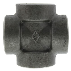"1/2"" 3000# A105N Carbon Steel Cross (NPT) Product Image"