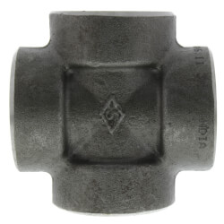 "1"" 3000# A105N Carbon Steel Cross (NPT) Product Image"