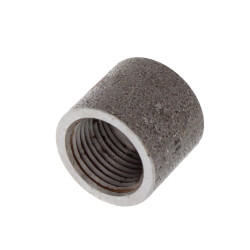 "3/8"" 3000# A105N Carbon Steel Half Coupling NPT Product Image"