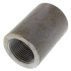 """1/2"""" x 1/4"""" 3000# A105N Carbon Steel Reducing Coupling NPT Product Image"""