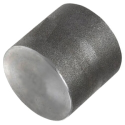 "1/8"" 3000# A105N Carbon Steel Cap (NPT) Product Image"