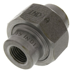 "1/4"" 3000# A105N Carbon Steel Union (NPT) Product Image"