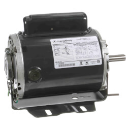 Capacitor Start ODP Rigid Base Motor, 1/2 HP, 1725 RPM (115/230V) Product Image