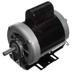 """6-1/2"""" Capacitor Start Resilient Base Motor (208-230/115V, 1725 RPM, 3/4 HP) Product Image"""