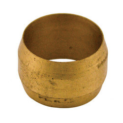 """(60-6) 3/8"""" OD Brass Compression Sleeve (Bag of 5) Product Image"""