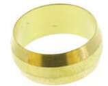 """(60-14) 7/8"""" OD Brass Compression Sleeve (Bag of 3) Product Image"""