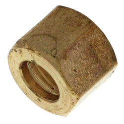 "(61-5) 5/16"" OD Brass Compression Nut (Bag of 10) Product Image"